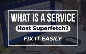 service host superfetch